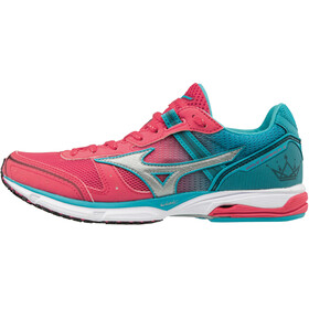 Mizuno Wave Emperor 3 Running Shoes Damen teaberry/black/peacock blue